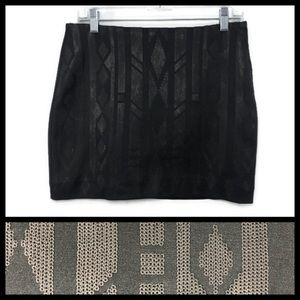 H&M Sequence Mini Skirt